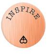 Alexander Jacobs Jewels Backplate Edelstaal Rose Goudkleurig Inspire 25mm