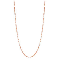 Alexander Jacobs Jewels Stainless Steel Necklace Rose Gold-coloured 60-66cm