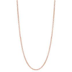 Alexander Jacobs Jewels Edelstaal Ketting Rose Goudkleurig 60-66cm