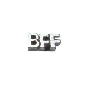 Alexander Jacobs Jewels Floating Charm Edelstaal Zilverkleurig BFF