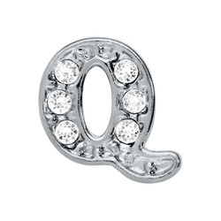 Alexander Jacobs Jewels Floating Charm Edelstaal  Zilver Q