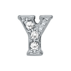 Alexander Jacobs Jewels Floating Charm Edelstaal  Zilver Y