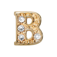 Alexander Jacobs Jewels Floating Charm Edelstaal  Goud B