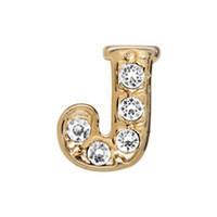 Alexander Jacobs Jewels Floating Charm Edelstaal  Goud J
