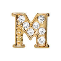 Alexander Jacobs Jewels Floating Charm Edelstaal  Goud M