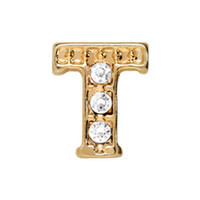 Alexander Jacobs Jewels Floating Charm Edelstaal  Goud T