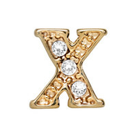 Alexander Jacobs Jewels Floating Charm Edelstaal  Goud X