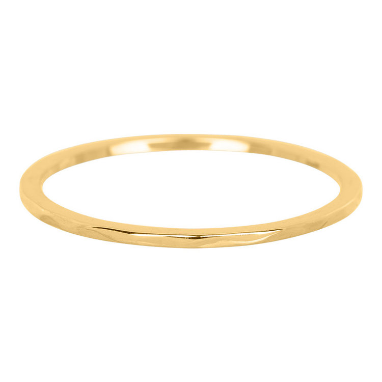 iXXXi Ring 1mm Edelstaal Goud Wave
