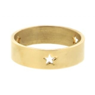 iXXXi Ring 6mm Goud 3 Open Stars