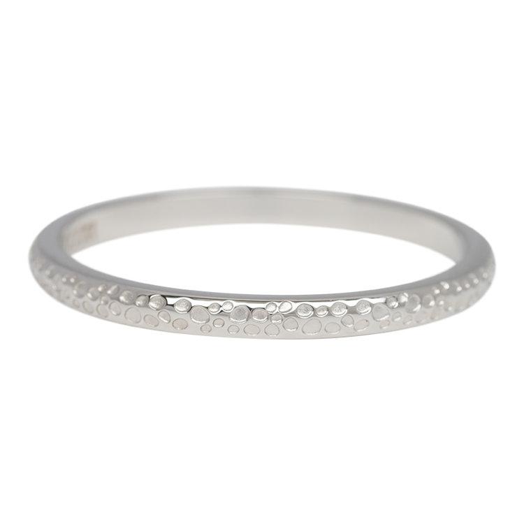 iXXXi Ring 2mm Edelstaal Dancer Zilver