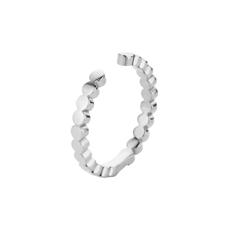 MelanO Twisted Ring Tina Edelstaal Zilver