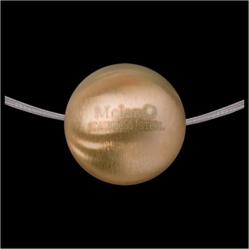 MelanO Stainless Steel Ball Hanger Mat Goldplated