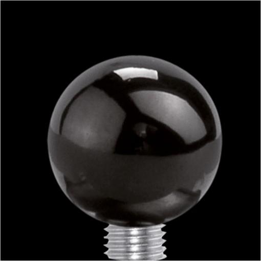 MelanO Stainless Steel Setting Ball Black Glans