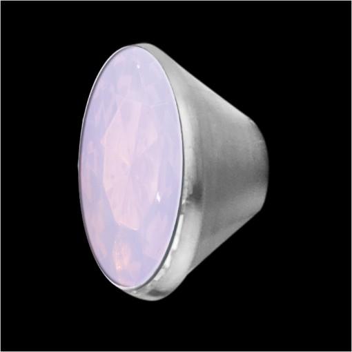 MelanO Stainless Steel Setting Conisch Milk Pink