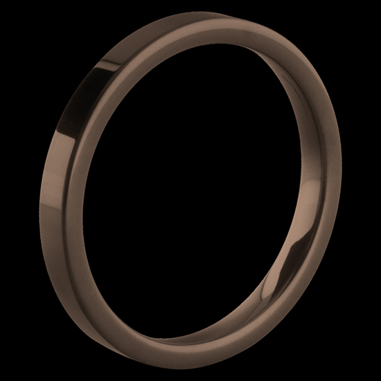 MelanO Keramische Side Ring Glans Chocolade