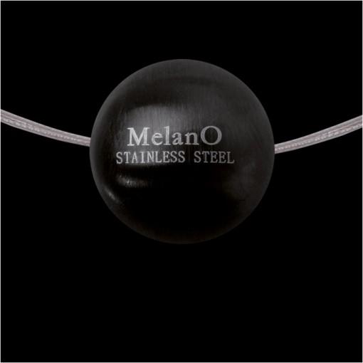 MelanO Stainless Steel Ball Hanger Mat Black