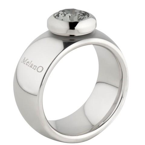 MelanO Vivid Ring Vicky 10mm Edelstaal Zilver