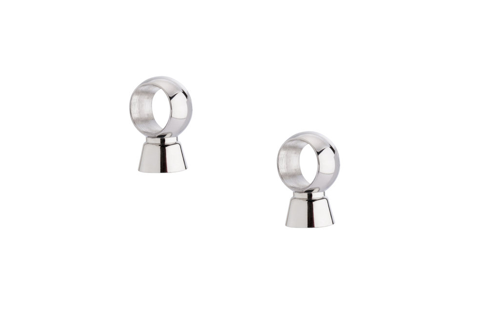Melano Earring pieces for Twisted Meddy Stainless Steel Silver-coloured