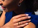 Melano Double Helix Ring Limited Edition Rose Goudkleurig_