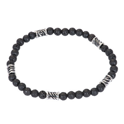 iXXXi Elastische Armband Zilverkleurig Mali