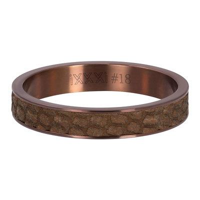 iXXXi Ring 4mm Cobra Brown