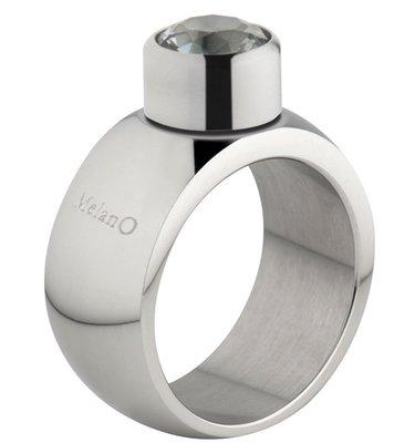 Melano Sturdy Ring Stefanie Edelstaal Glans 10mm