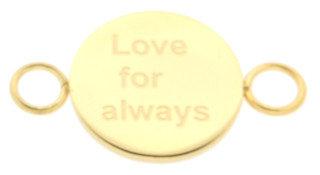 iXXXi Bangle Meddy  Love for Always Edelstaal Goudkleurig