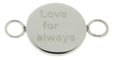 iXXXi Bangle Meddy  Love for Always Edelstaal