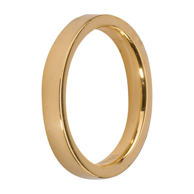 Melano Friends Side Ring Goudkleurig, Glans