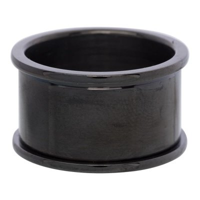 iXXXi Basis Ring 10-12mm Edelstaal Black