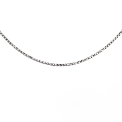 Melano Necklace Jodie Stainless Steel Silver-coloured, diverse lengtes
