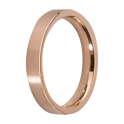Melano Friends Side Ring Rose Goudkleurig, Glans