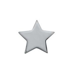 Alexander Jacobs Jewels Floating Charm Edelstaal Zilverkleurig Ster
