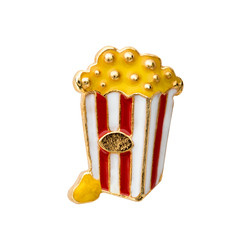 Alexander Jacobs Jewels Floating Charm Edelstaal Popcorn