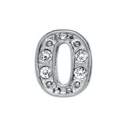 Alexander Jacobs Jewels Floating Charm Edelstaal  Zilverkleurig 0