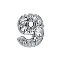 Alexander Jacobs Jewels Floating Charm Edelstaal  Zilverkleurig 9