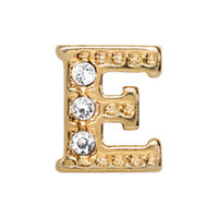Alexander Jacobs Jewels Floating Charm Edelstaal  Goud E