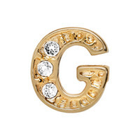 Alexander Jacobs Jewels Floating Charm Edelstaal  Goud G
