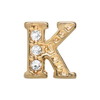 Alexander Jacobs Jewels Floating Charm Edelstaal  Goud K