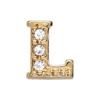 Alexander Jacobs Jewels Floating Charm Edelstaal  Goud L