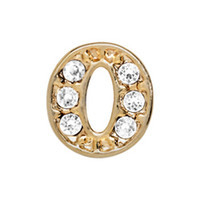 Alexander Jacobs Jewels Floating Charm Edelstaal  Goud O