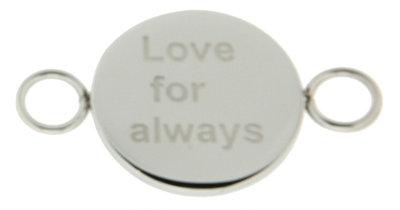 iXXXi Bangle Setting  Love for Always RVS