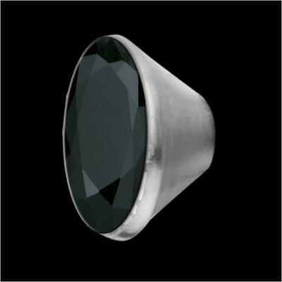 MelanO Stainless Steel Setting Conisch Black