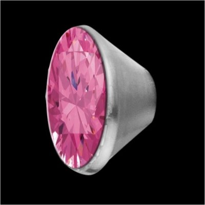 MelanO Stainless Steel Setting Conisch Pink