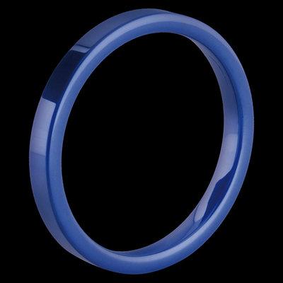 Melano Keramische Side Ring Glans Blauw