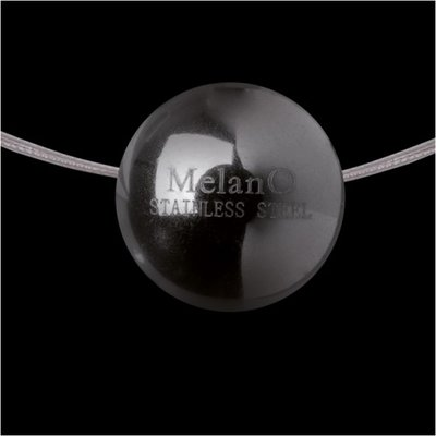 Melano Stainless Steel Ball Hanger Glans Black