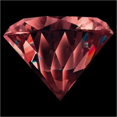 Melano Brilliant Zirkonia Stones Dark Red