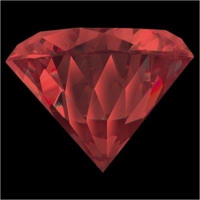 Melano Brilliant Zirkonia Stones China Red