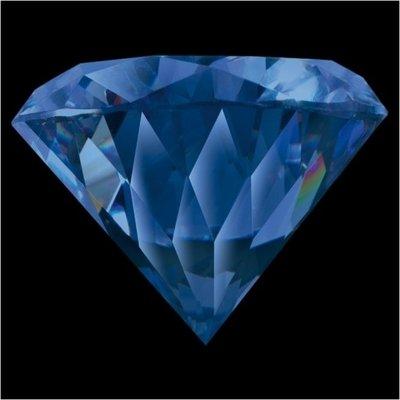 Melano Brilliant Zirkonia Stones Blue