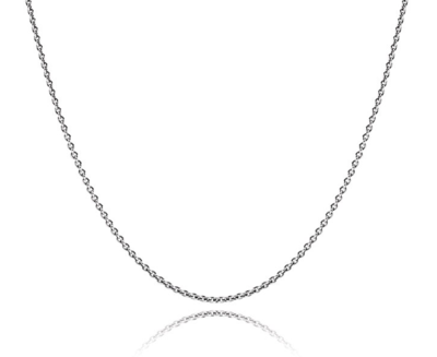 MelanO Ketting Edelstaal Collier 1,5mm, diverse lengtes